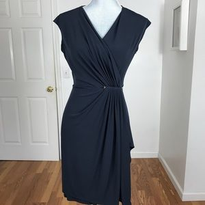 MICHAEL MICHAEL KORS NAVY DRESS SIZE SMALL